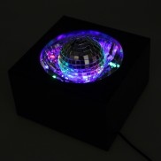 Mirror Ball LED Box