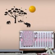 Mumbo Elephant Wall Decor