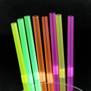 Neon Bendy Straws
