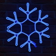 Neon Flex Snowflake