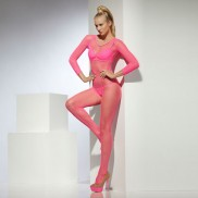 Neon Pink Body Stocking