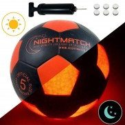 Night Match Light Up LED Football - Size 5