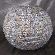 Paisley Fabric Lampshade