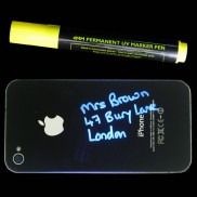 Permanent 4mm Thick UV Reactive Marker Pen