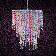 Petite Beaded Chandelier