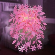 Pink Floral Lampshade (15486)