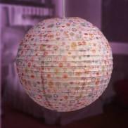 Pink Flowershop Paper Lantern