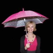Mini Pink Twilight Umbrella