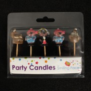 Pirate Party Cake Candles