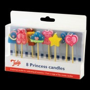 Princess Candles (8 Pack)