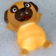 Pug Light Up Bath Plug