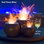 Blaze Real Flame Lamp