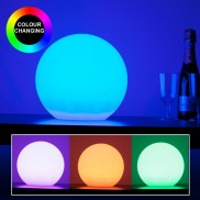 Rechargeable 25cm Ball Lamp