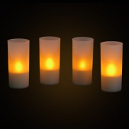 Rechargeable LED Candle Set