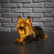 Retro Yorkshire Terrier Lamp