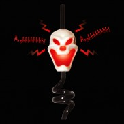 Screaming Skull Straw