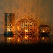 Silver Metal Lanterns