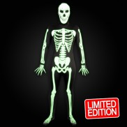 Skinz Glow Skeleton Suit