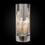 Skyline Satin Nickel Touch Lamp (15466)