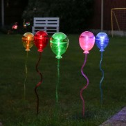 Solar Balloon Garden Stake Lights