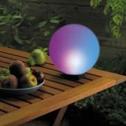 Solar Colour Change Globe
