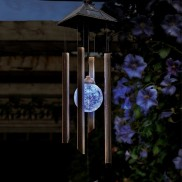 Solar Colour Change Windchime