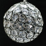 Crystal Solar Hanging Ball