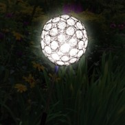 Solar Crystal Sphere Stake