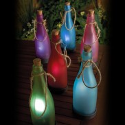 Solar Frosted Glass Bottles