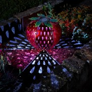 Solar Funky Fruit Strawberry Lantern