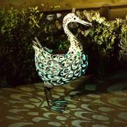 Solar Metal Duck