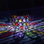 Solar Multi Glow Gem Lantern