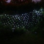 Solar 100 LED Net Light