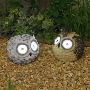 Solar Garden Owl Lights (2 Pack)