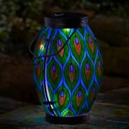 Solar Peacock Lantern
