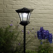 Kingston Solar Powered Garden Lamp Post