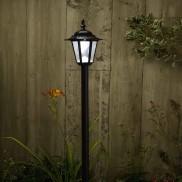 Kingston Solar Powered Garden Lamp Post