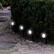 Solar Smart Spotlight Stakes (4 Pack)
