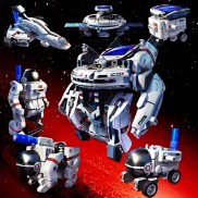 Solar Space Fleet Robot 7 in 1
