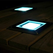 Solar Square Decking Light