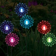 Solar Sunflower Lights (2 Pack)