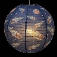 Spaceboy Paper Lantern
