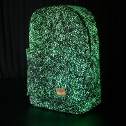 Spiral Glow Galaxy Backpack