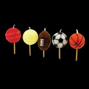 Sports Ball Candles (5 Pack)