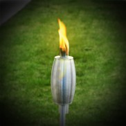 Stainless Steel Garden Torch 1.15m