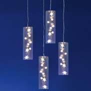 27cm 4-Piece Star Tube Lights