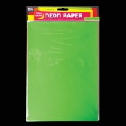 Sticky Backed Neon Paper