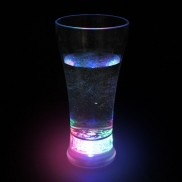 Flashing Beer Glass