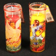 Summer Cocktail Glass Candles (single)