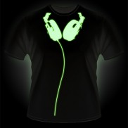 Glow Headphones T-Shirt